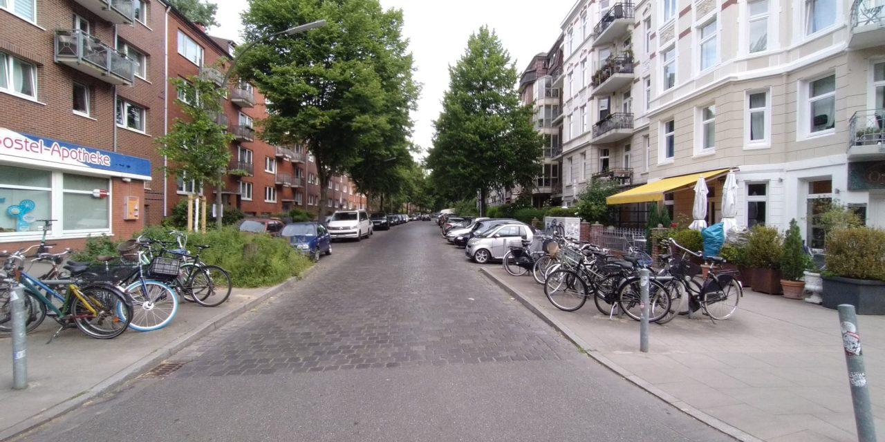 Die Parkplatzvernichtung geht weiter: In der Sillemstraße soll es 76 Parkplätze weniger geben
