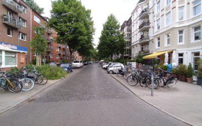 Antrag: Stellungnahme zur Planung der Veloroute 2 in der Sillemstraße im Abschnitt zwischen Hellkamp und Sartoriusstraße